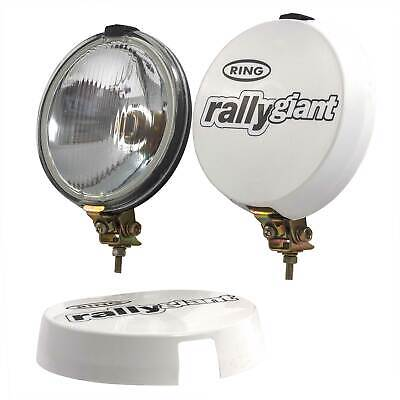 Ring Automotive Rally Giant Spot Lamp Lights With Covers - Pair - H3 / 453 Bulb