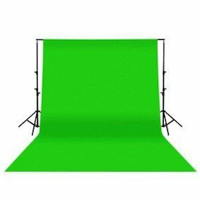 Ex-Pro® Photographic Chroma Key - Green Screen Background Backdrop 3m x 2m