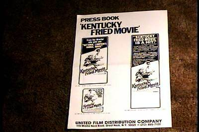 Kentucky Fried Movie Pressbook Complete Cult Comedy