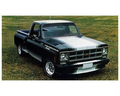 1977 GMC Indy 500 Pace Pickup Truck Photo Poster zca2357