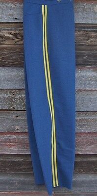 civil war light blue trousers with double yellow stripe 46