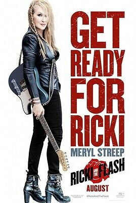 Ricki and the Flash - original DS movie poster - D/S 27x40 - Advance
