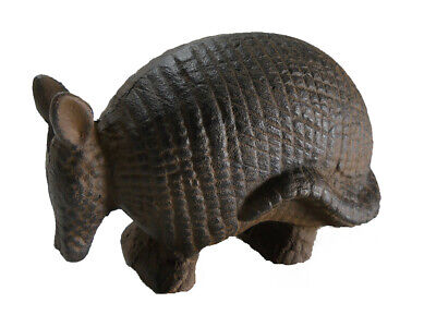 Cast iron Armadillo Door stop southwestern decor country old new vintage antique