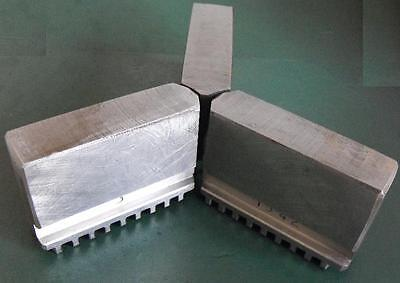 lathe chuck scroll type soft jaws to suit HDC, Toolmex Bison