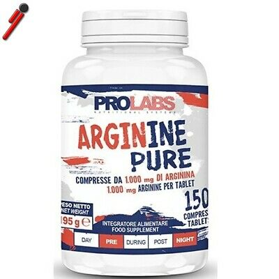 Prolabs - Arginine Pure, 150 cpr. Arginina in compresse