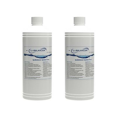(39,80€/1l) 2er-Pack SpaBalancer System Flush 1,0 l