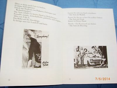 Auto Geddon v. Heathcote Williams - witziges Buch z.Thema Auto - Orig 1985  /S33