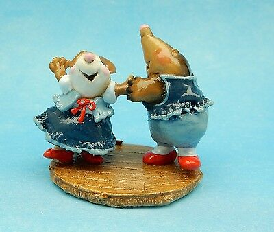 DO-SI-DO by Wee Forest Folk, WFF# MMO-2, BLUE, Retired Square Dance Mice