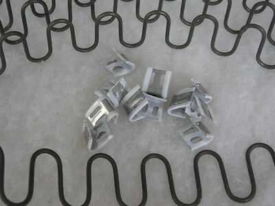 Select Any Size Upholstery Zig Zag Serpentine Spring + Clips Sofa  Accessories