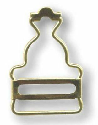 25mm Gold Overall Buckles