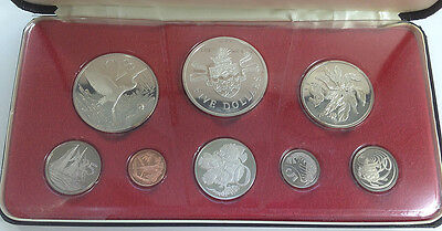 Cayman Islands 1974 Silver Proof Coin Set - K550