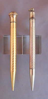 Vintage Pencils--lot of 2  Conklin and Ritewell-SOLD AS PARTS ONLY