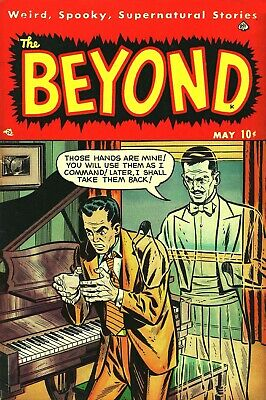 The Beyond 04 Comic Book Cover Art Giclee Reproduction on Canvas