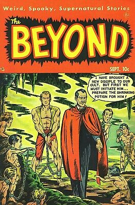 The Beyond 06 Comic Book Cover Art Giclee Reproduction on Canvas