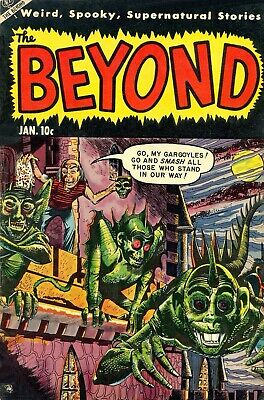 The Beyond 24 Comic Book Cover Art Giclee Reproduction on Canvas