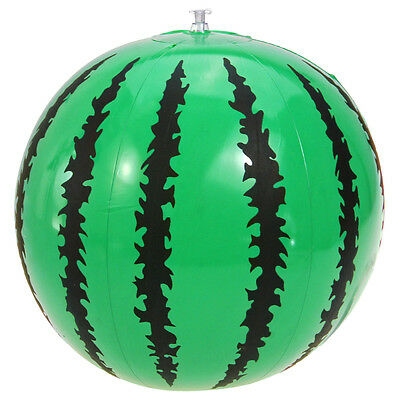 "Inflatable Watermelon Beach Ball 16"" Holiday Party Swimming Toys"