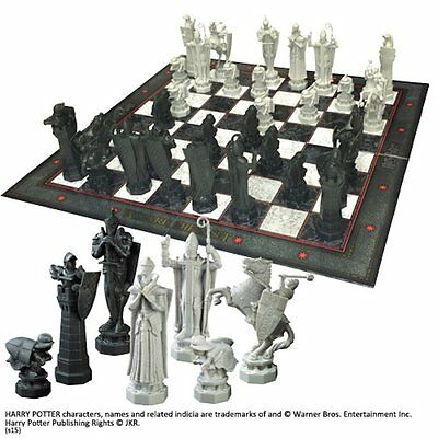 Harry Potter Final Challenge Wizard Chess Set Noble NN7580
