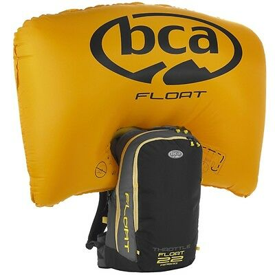 BCA Float 22 Throttle Mountain Avalanche Airbag Bag Backpack w Cylinder 6639-107