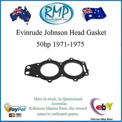A Brand New Head Gasket Suits Evinrude Johnson 50hp 1971-thru-1975 # R 315539