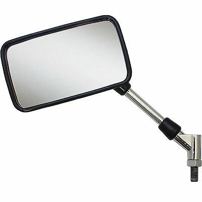 Chrome Large E-Marked 10Mm Thread Motorbike Mirrors Universal Motorcycle/bike