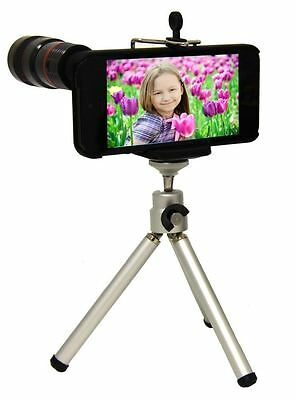 Eye Scope Optical Zoom Tripod Camera Kit For iPhone 4 4s 5 Photography Accessory