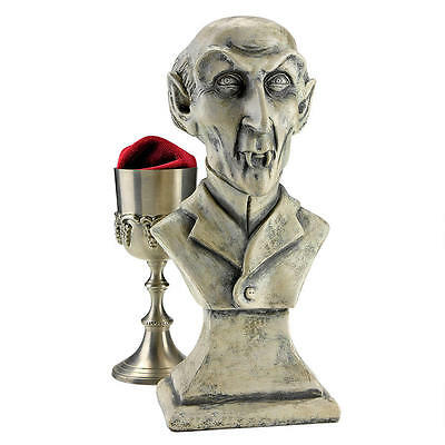 Fabled Bloodthirsty 1922 Film Vampire Count Orlok Bust Sculpture