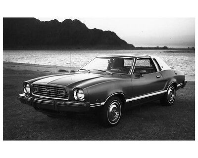 1977 Ford Mustang Ghia Factory Photo ca2547