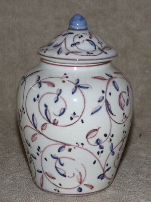 Made in Portugal Hand Painted Ginger Jar Outeiro Agueda