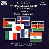 Complete National Anthems Vol 3: Gabon-Kyrgyzstan (Marco Polo) CD NEW
