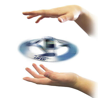 Amazing Mystery UFO Floating Flying Disk Saucer Magic Cool Trick Kid toys Gifts