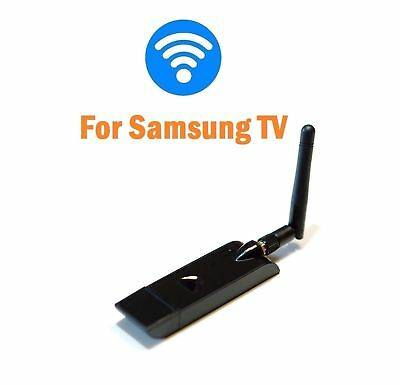 New Wireless LAN Adapter Wifi USB Dongle for Samsung TVas WIS12ABGNX WIS09ABGN