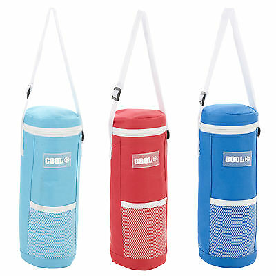 1.5L Foil Insulated Water Ice Drink Bottle Cool Cooler Bag Cover Hiking Walking