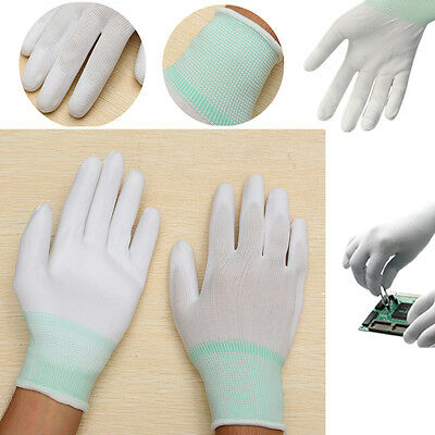 1 pair Safety Anti-static Anti-skid Gloves PC Computer Electronic Labor Working