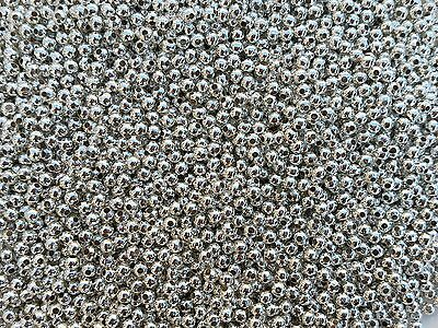 Silver Round Spacer Beads For Jewellery Making 2mm 3mm 4mm 5mm 6mm BUY 3 FOR 2