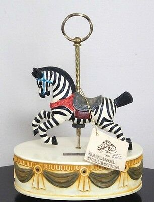 Vintage Asahi American Collection Carousel Zebra Music & Motion Box With Tags