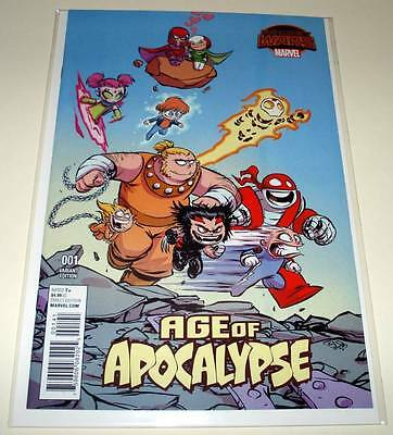 AGE OF APOCALYPSE # 1  Marvel Comic   Sept 2015  NM  SKOTTIE YOUNG VARIANT COVER