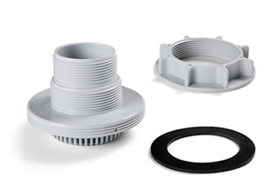 Intex Replacement Inlet Strainer Connector with Washer & Nut for Large Pools