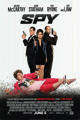 Spy - original DS movie poster - 27x40 D/S McCarthy - Final