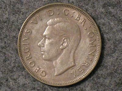 1942 Great Britain Two Shillings - Florin  - Foreign World Coin