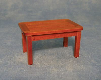 1/12 Scale Dolls House Wooden  Garden Table