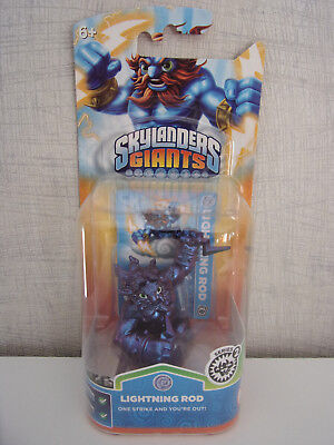 Skylanders GIANTS Purple Metallic LIGHTNING ROD - NEU & OVP