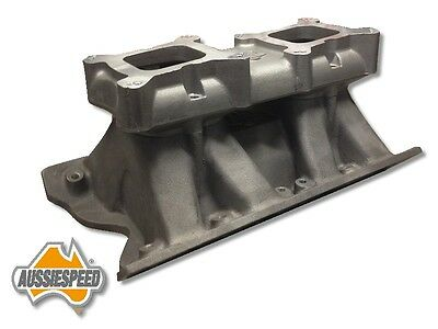 Cleveland 2V small port  suit Ford Aussie heads Tunnel Ram Manifold Dual Quad