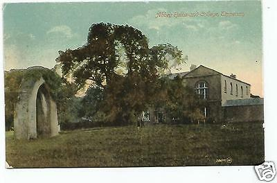irish postcard ireland tipperary abbey ruins and college