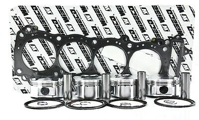 Wiseco Piston Kit 84.00mm (+3.00 Oversize) 13.5:1 Compression  CK181