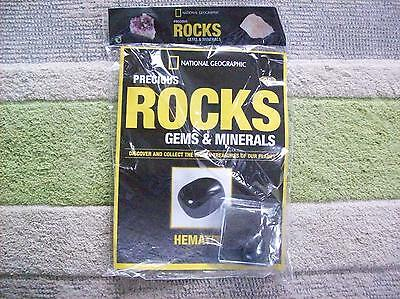 National Geographic Precious Rocks Gems & Minerals Magazine Issue 26 Hematite