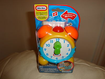 Little Tikes Alarm Clock, Discover sounds,  for ages 1 yr+ Brand New sealed