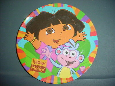 DORA THE EXPLORER COLLECTOR PLATE by ZAK DESIGNS 8 INCH FREE USA SHIPPING