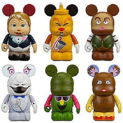 DISNEY PARK 7 VINYLMATIONS ~ EPCOT SET OF 6 LIMITED EDITION OF ONLY 1,500 ~ NEW