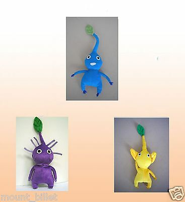 """Handmade 12""""  PIKMIN Plush Doll Leaf collection Great Christmas X'mas Gift"""