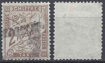 ---- France Timbre Taxe N°26 - Oblitération Triangle + Plume - Cote 200€ ----